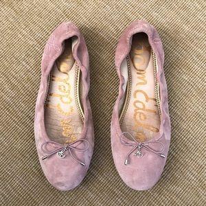Sam Edelman | Dusty Rose Suede Felicia Ballet Flat